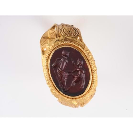 A ROMAN RING, 2ND-4TH CENTURY Image