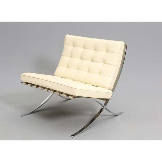 A KNOLL STUDIO BARCELONA CHAIR Image