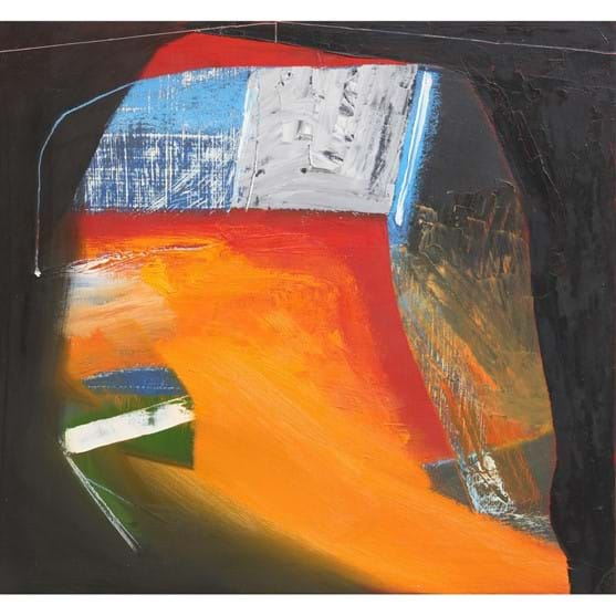 MATTHEW LANYON (1951-2016), ROUND'S END, ABSTRACT Image